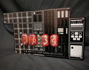 The W.I.T.C.H Computer clock