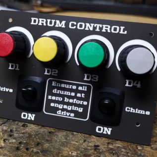 Covert Bombe drive control panel