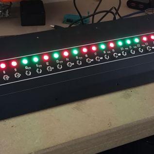 State setting panel running