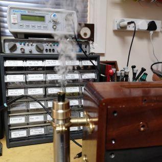 Smoke Generator trial run
