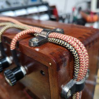 Decorative wiring with original 1930's wire