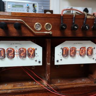 Clock electronics in and running