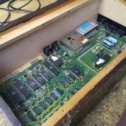 Main board inside the casing