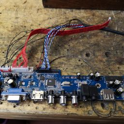 Driver board for the LCD Panel