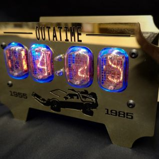 Back to the Future Henry Clock