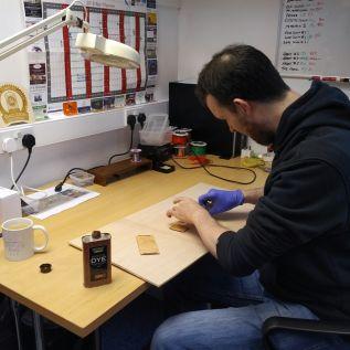 Woodwork preparation