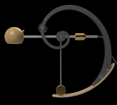 A-Type Balance lamp in extended position