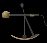B-Type Balance lamp in centre position