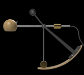 B-Type Balance lamp in extended position
