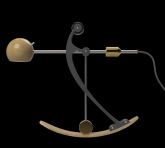 C-Type Balance lamp in centre position
